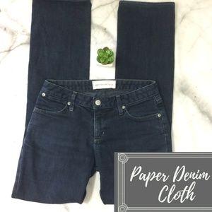 Paper Denim & Cloth Dark Wash Boot Cut Jean Sz. 26